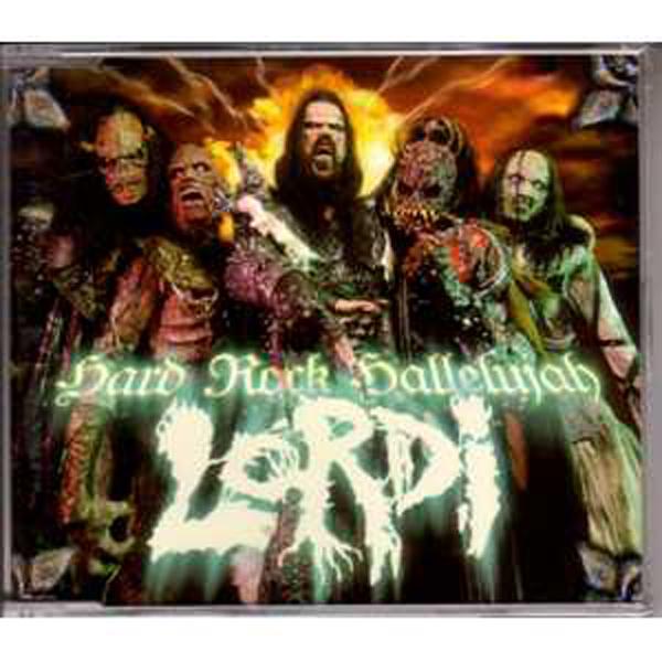 EUROVISION 2006 FINLANDE : LORDI - Hard rock hallelujah 3 tracks jewel case - CD Maxi