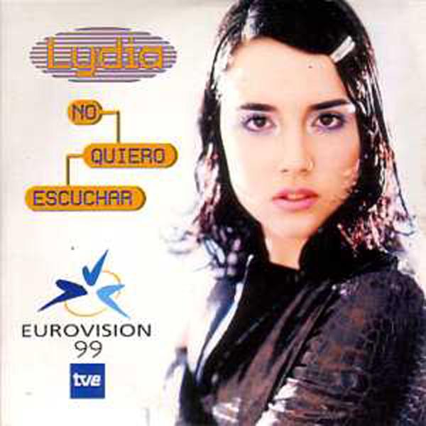 EUROVISION 1999 ESPAGNE : LYDIA - No quiero escuchar 2-track CARD SLEEVE - CD single