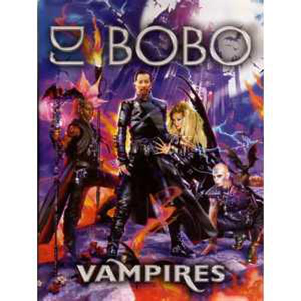 EUROVISION 2007 SUISSE : DJ BOBO - Vampires Promo pack - CD single