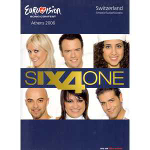 EUROVISION 2006 SUISSE : SIX4ONE - If we all give a little PRESS kit - CD Maxi