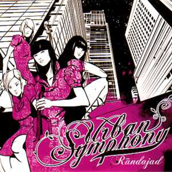 EUROVISION 2009 ESTONIE : URBAN SYMPHONY - Rändajad PROMO 2-TRACK CARD SLEEVE - CD single