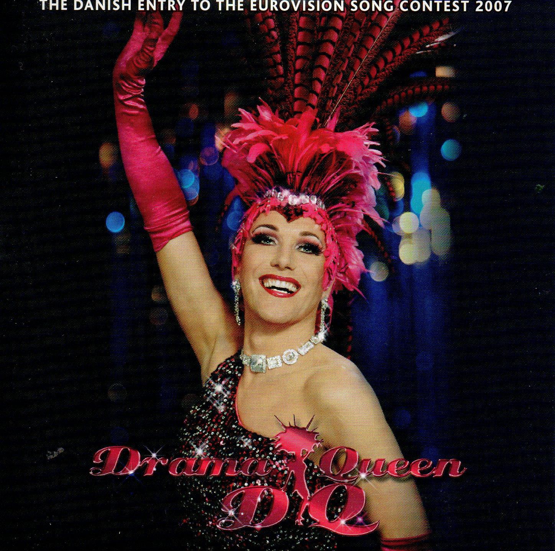 EUROVISION 2007 DANEMARK :DQ - Drama Queen 4-track CARD SLEEVE - CD single