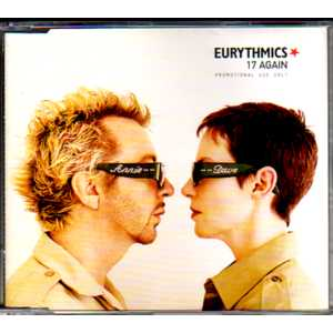 EURYTHMICS - 17 Again Promo 1-track Jewel Case