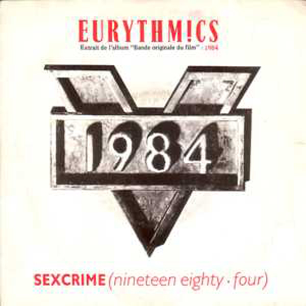 EURYTHMICS Soundtrack 1984 - Eurythmics : Sexcrime