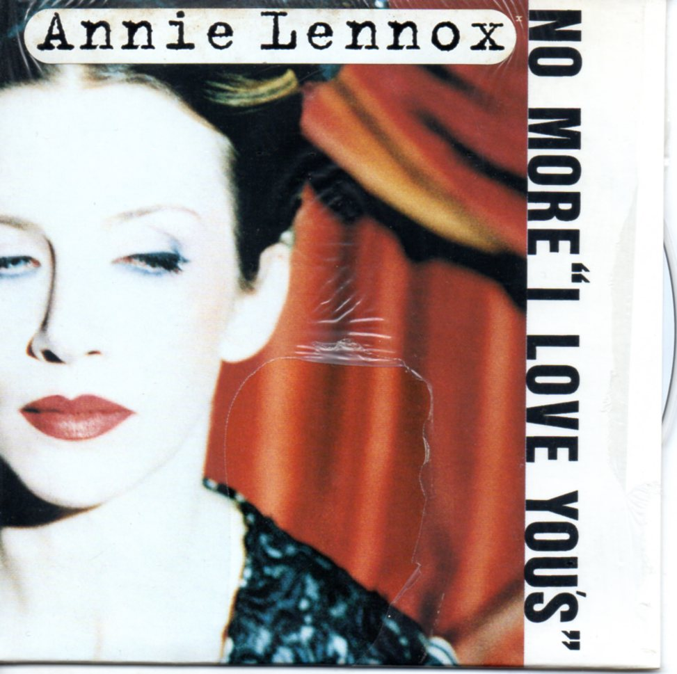 ANNIE LENNOX - No more I love you's 2-Track CARD SLEEVE with sticker - CD single