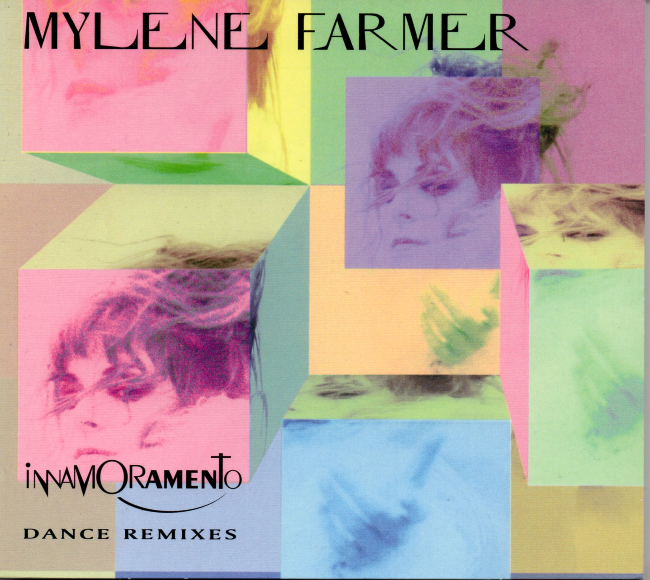 MYLÈNE FARMER - Inamoramento - The Remixes 4-TRACK Digipack - CD Maxi