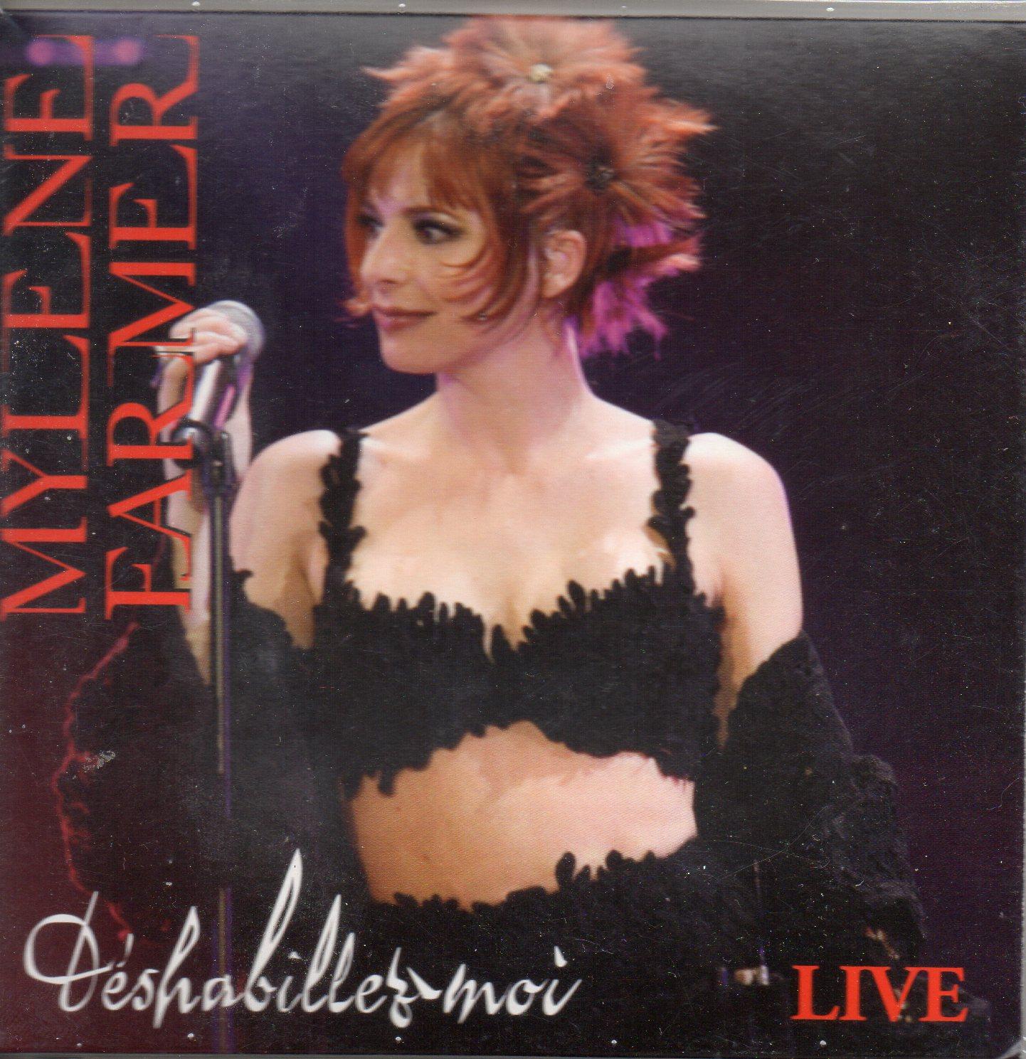 MYLÈNE FARMER - Déshabillez-moi (Live) 2-track CARD SLEEVE - CD single