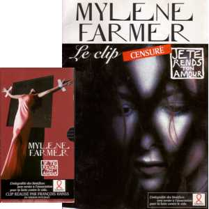 Mylène FARMER - Je Te Rends Ton Amour The Cencored Clip ! Video + Leaflet