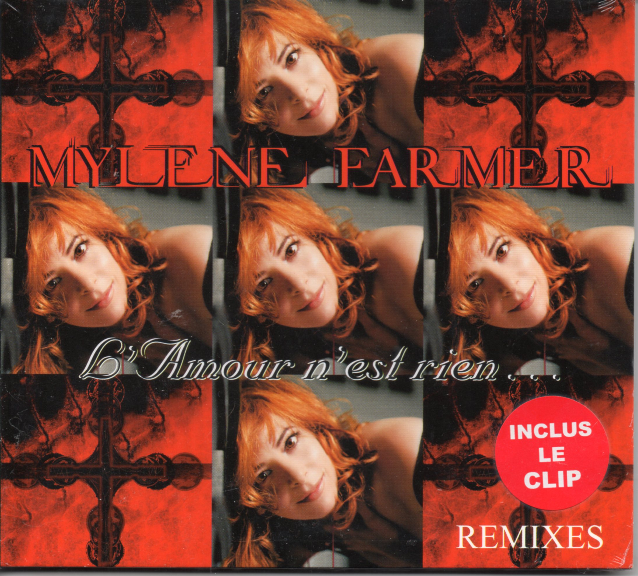 Mylène FARMER - L'amour N'est Rien - Remixes - 4-track Digipack