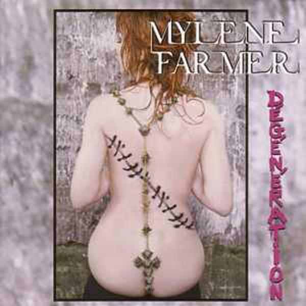 MYLÈNE FARMER - Dégénération 3-track CARD SLEEVE - CD single