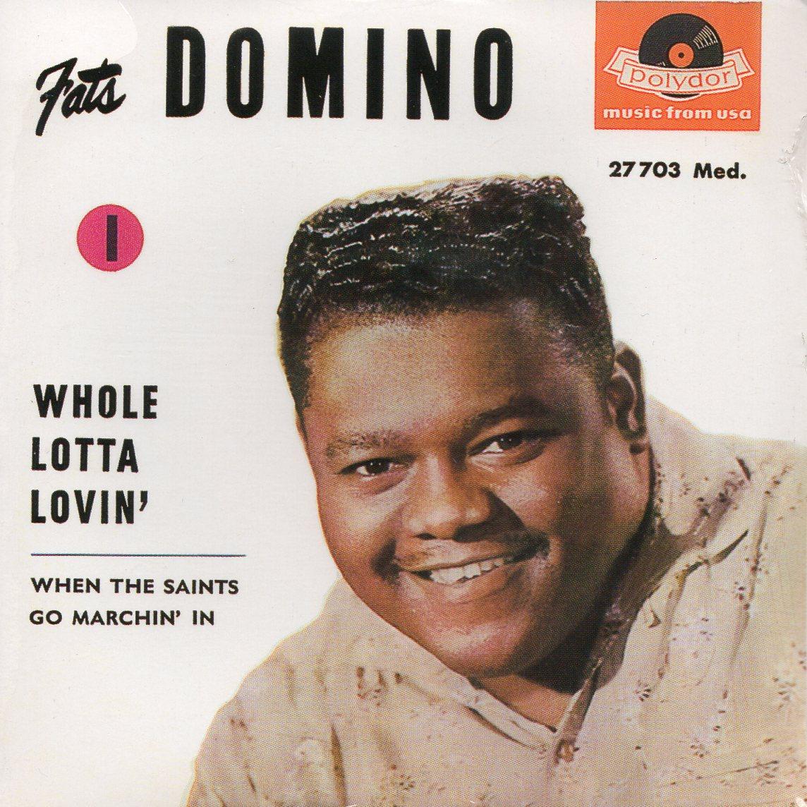 Fats DOMINO - Whole Lotta Lovin' - Ep 4-track Card Sleeve