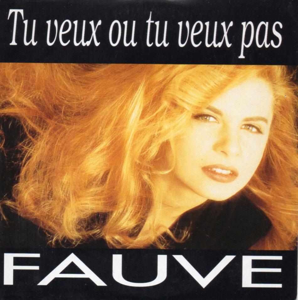 FAUVE - Tu veux ou tu veux pas 4-track CARD SLEEVE - CD single