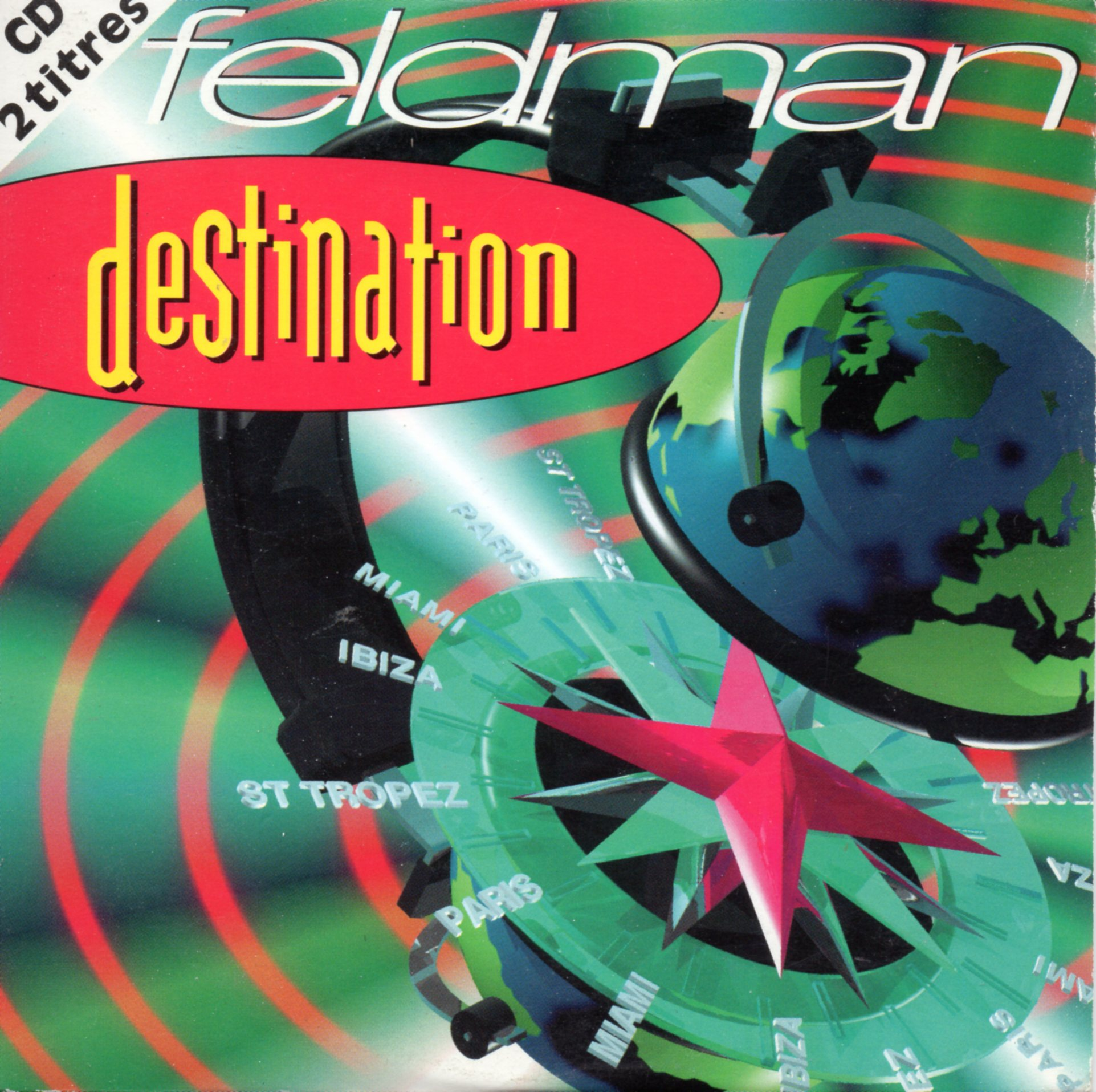 FRANÇOIS FELDMAN - Destination 2-Track CARD SLEEVE - CD single