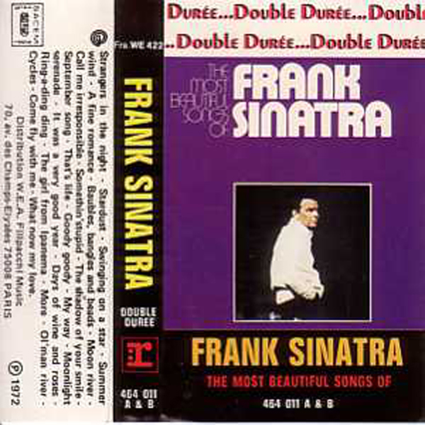 Frank SINATRA - The Most Beautiful Songs - France -