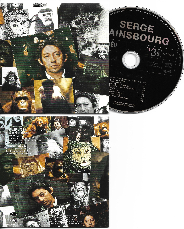 SERGE GAINSBOURG - Vol 7 - L'homme à la tête de chou - 1975 - 1976 - 1977 - 1978 - 1981 - CD