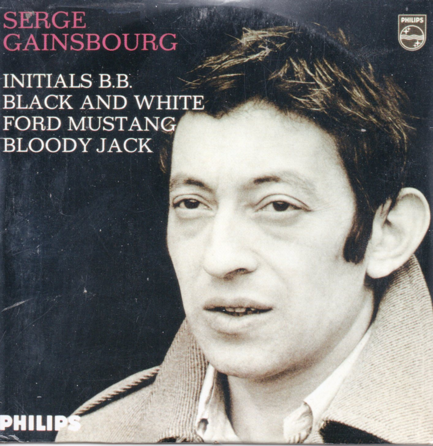 SERGE GAINSBOURG - Initials BB Strictly Ltd numbered edition 4-track CARD SLEEVE - CD single