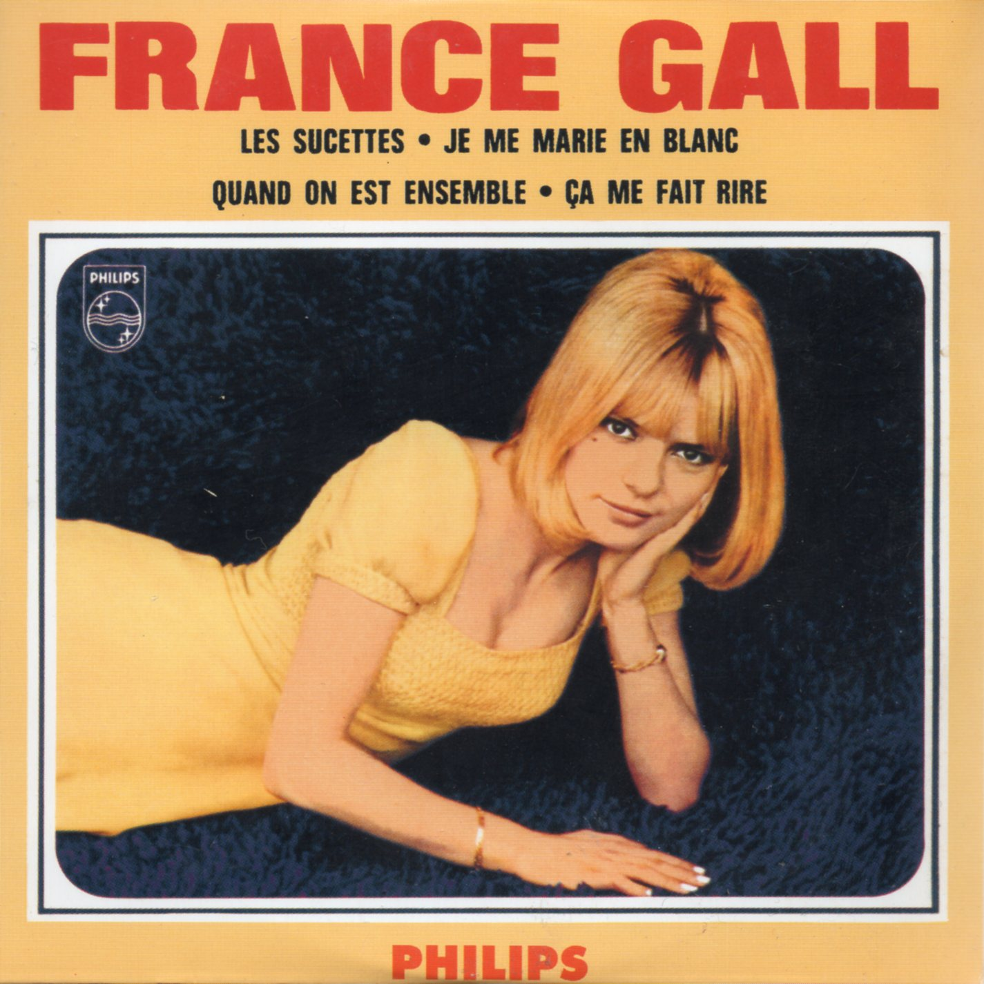 FRANCE GALL - Les sucettes 4-TRACK CARD SLEEVE - CD single