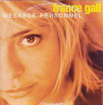 FRANCE GALL - FRANÇOISE HARDY - Message personnel 2-Track CARD SLEEVE - CD single