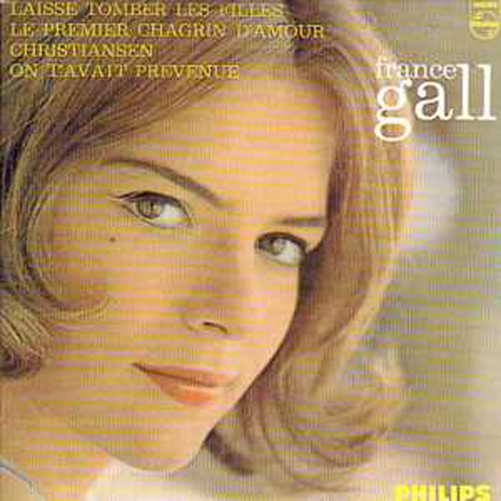 FRANCE GALL - Laisse tomber les filles 4-track CARD SLEEVE Limited Edition - CD single