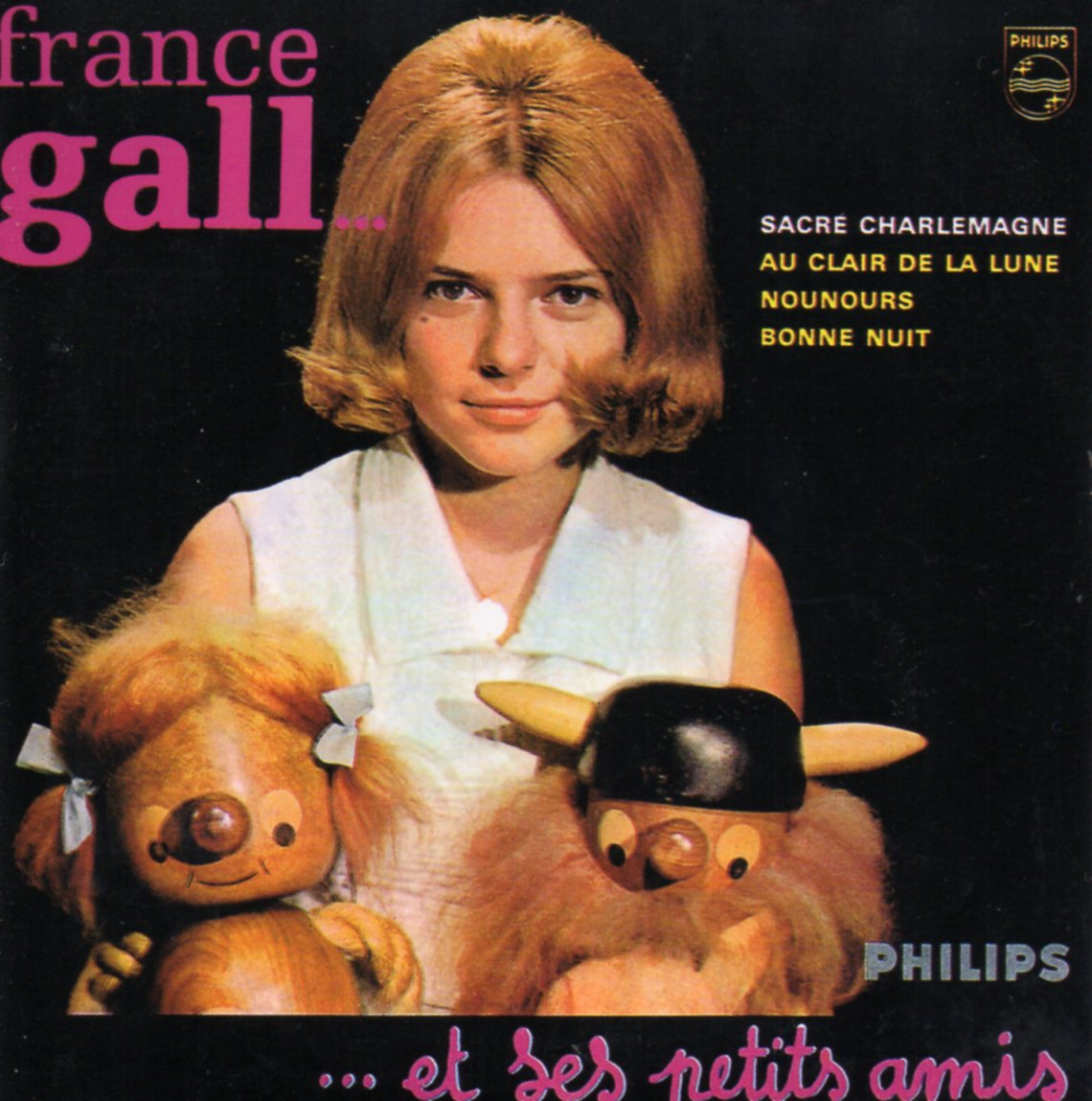 FRANCE GALL - Sacré Charlemagne 4-track CARD SLEEVE - CD single