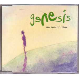 GENESIS - No Son Of Mine 3 Tracks Jewel Case