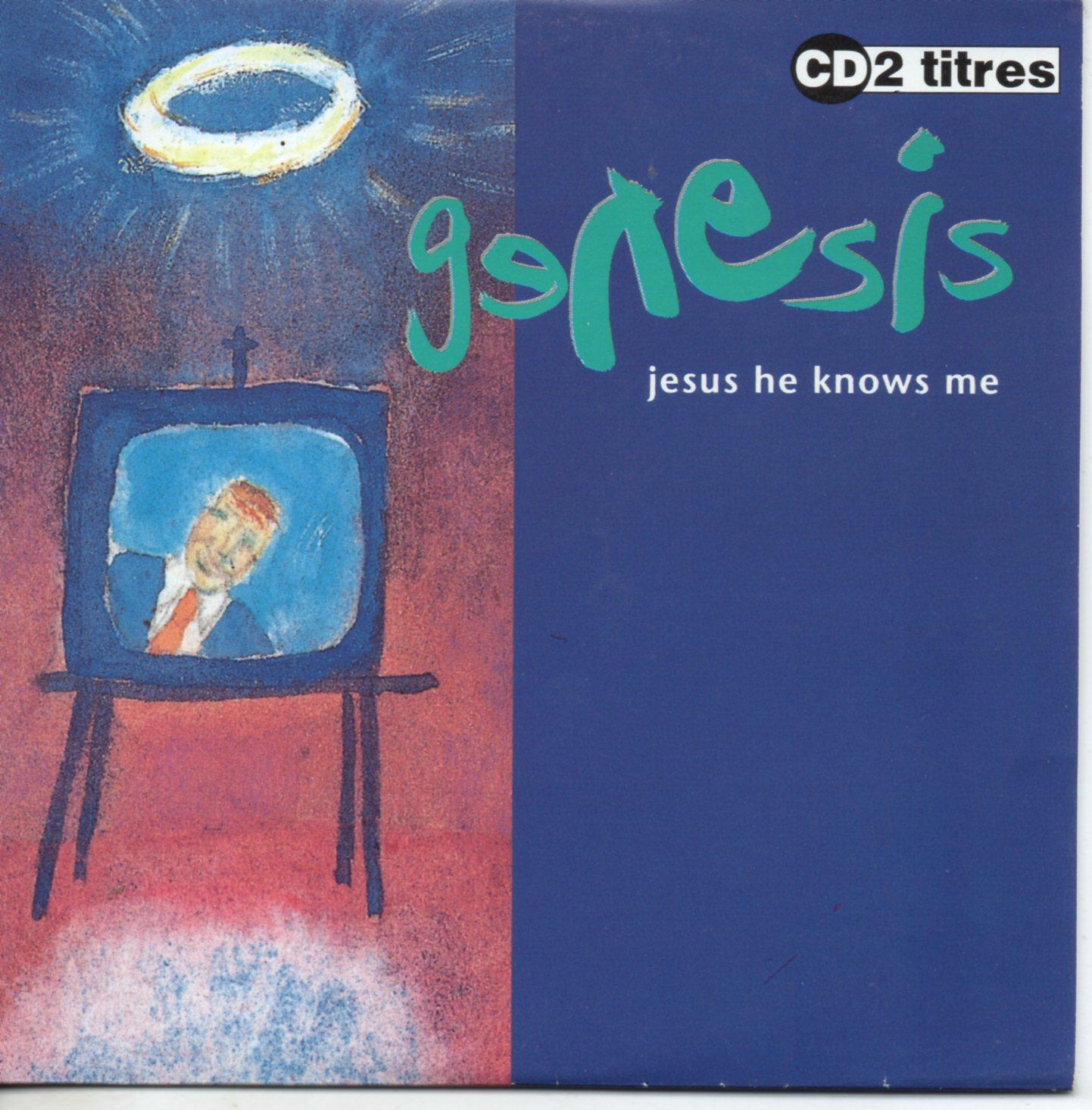 GENESIS - Jesus he knows me 2-Track CARD SLEEVE - CD single