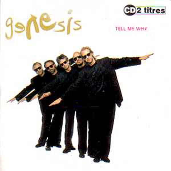 GENESIS - Tell me why 2-Track CARD SLEEVE - CD single