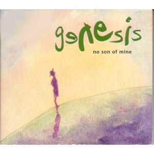 GENESIS - No Son Of Mine 3 Tracks Digipack Sticker On Sleeve