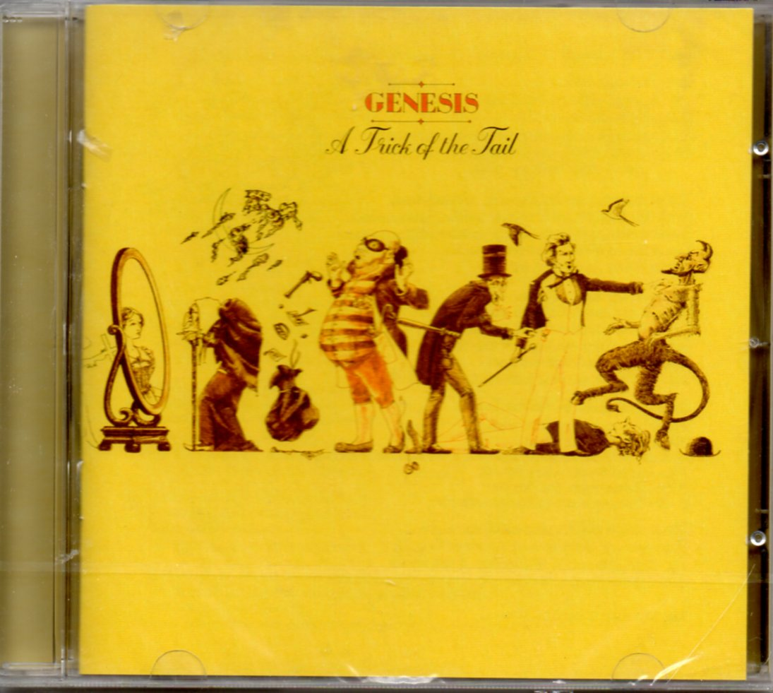 GENESIS - A trick of the tail (2007 Remastered edition) - CD