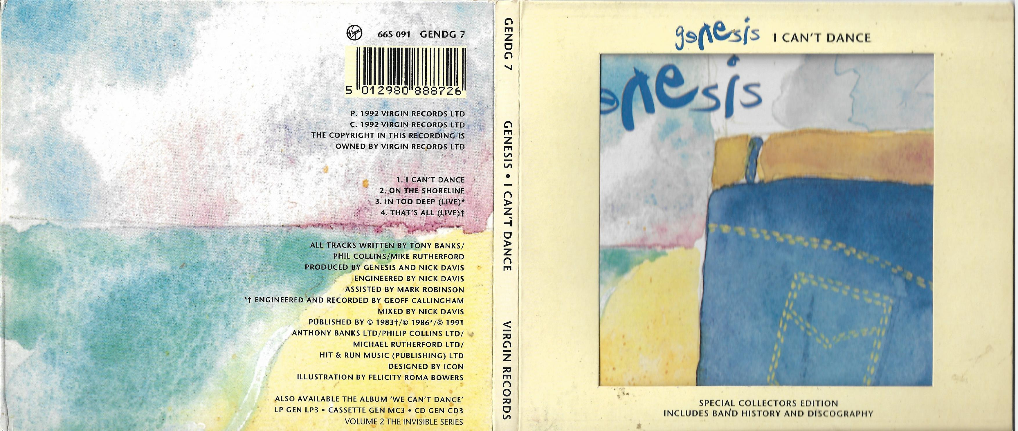 GENESIS - Abacab (2007 Remastered edition) - CD