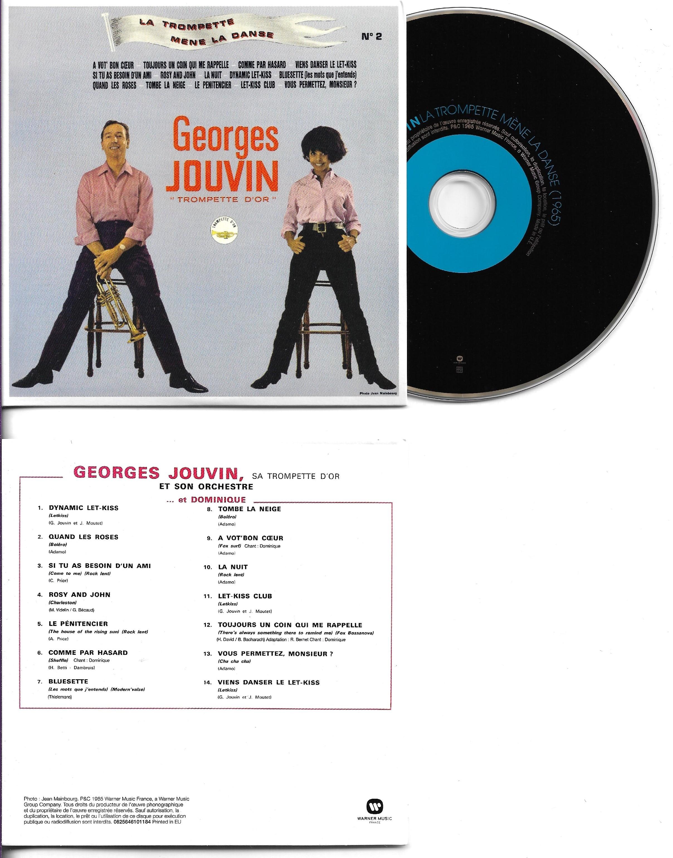 GEORGES JOUVIN ET DOMINIQUE - La trompette m?ne la danse (1965)  - MINI LP REPLICA CARD SLEEVE - 14-TRACK - CD