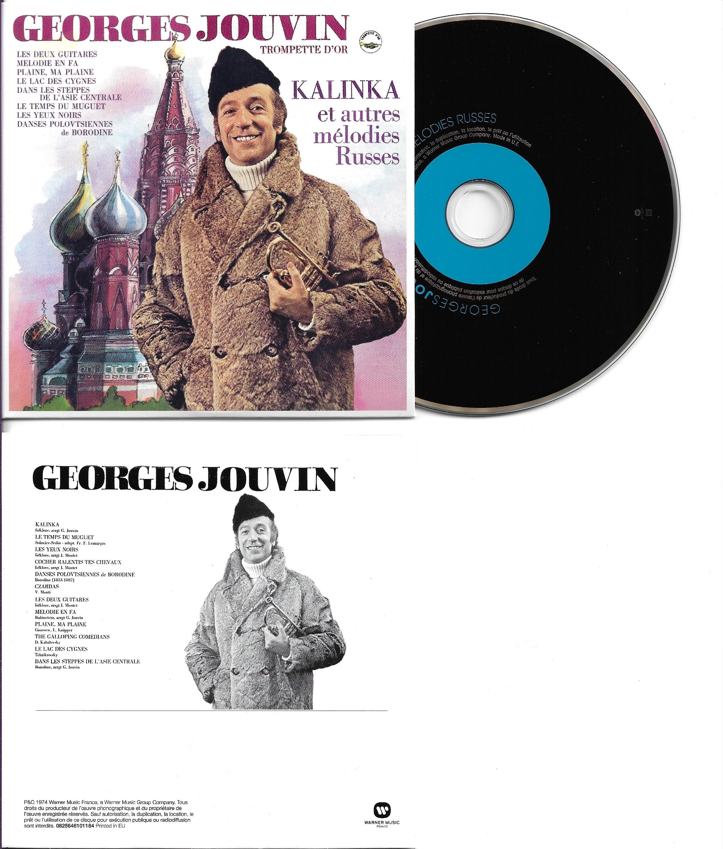 GEORGES JOUVIN - Kalinka et autres m?lodies russes(1974)  - MINI LP REPLICA CARD SLEEVE - 12-TRACK - CD