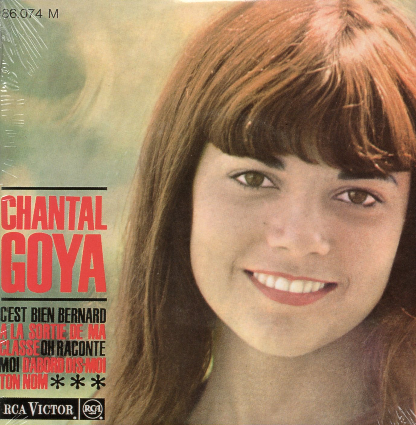 CHANTAL GOYA - C'est bien Bernard 4-TRACK CARD SLEEVE - CD single