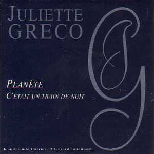 JULIETTE GRÉCO - Planete Promo 2 Tracks CARD SLEEVE - CD single