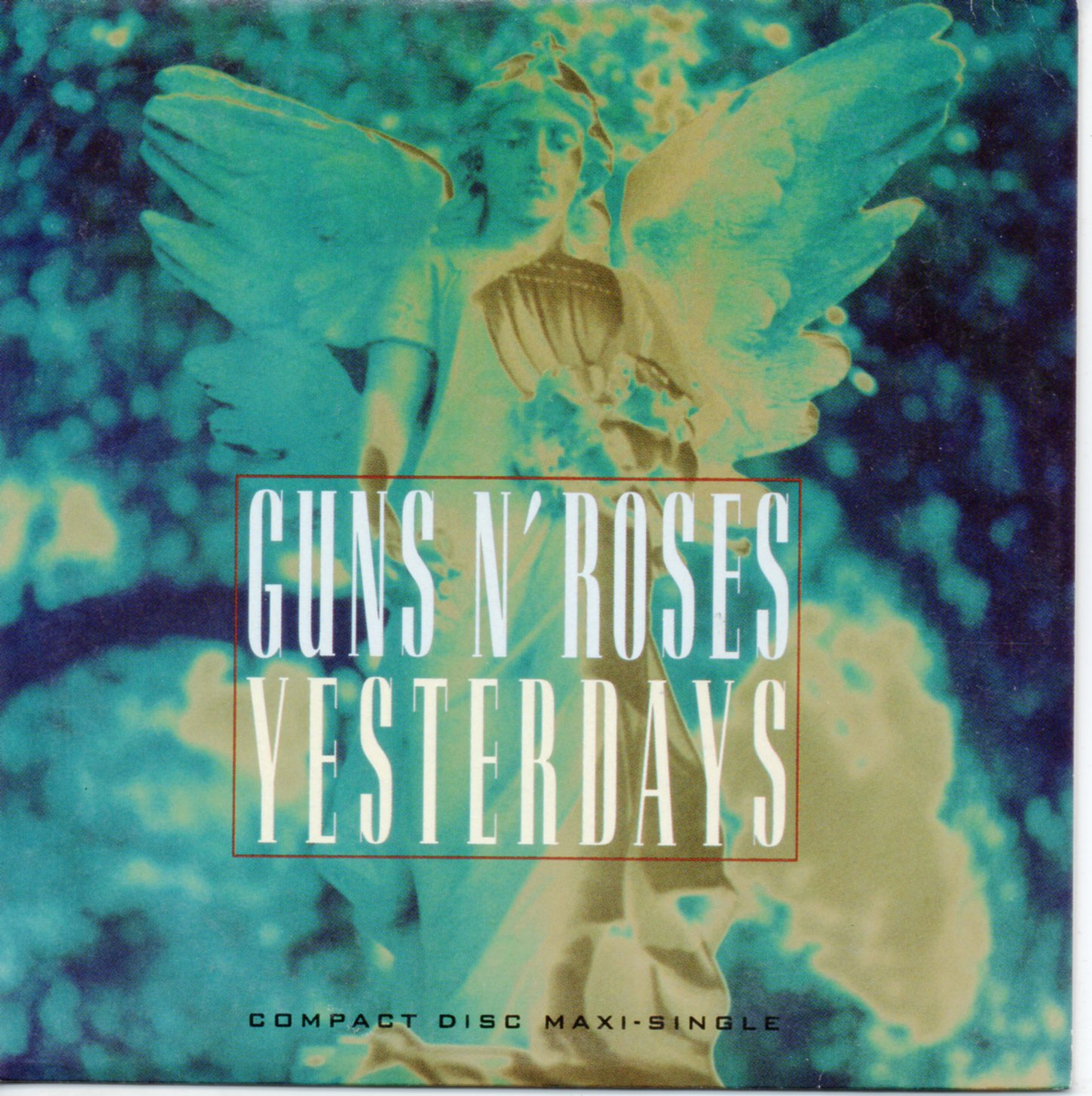 GUNS N' ROSES - Yesterdays 2-track CARD SLEEVE - CD single