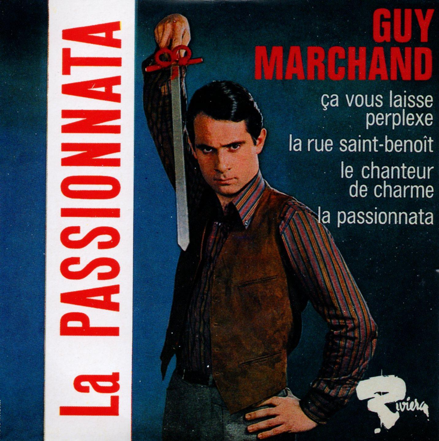 GUY MARCHAND - La passionata 4-TRACK CARD SLEEVE - CD single