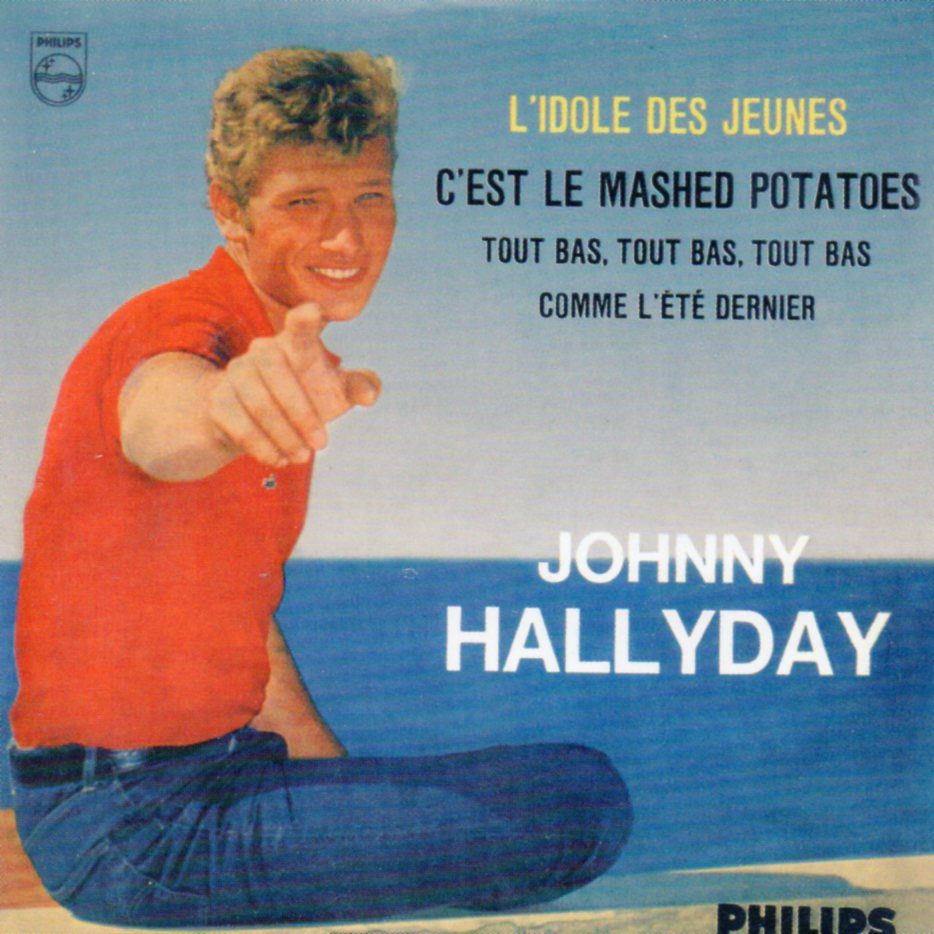 JOHNNY HALLYDAY - L'idole des jeunes 4-track CARD SLEEVE EP REPLICA - CD single