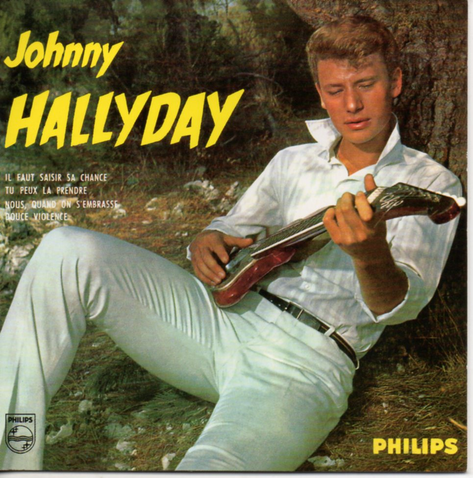 JOHNNY HALLYDAY - Nous, quand on s'embrasse (1ère pochette) 4-track CARD SLEEVE - CD
