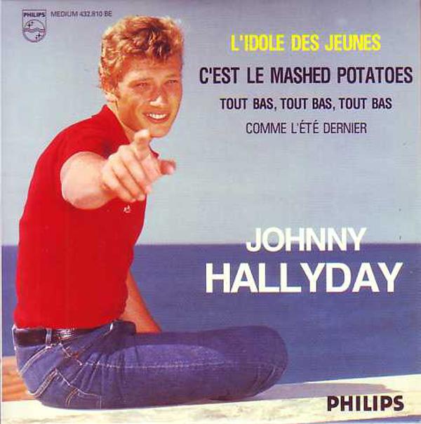 JOHNNY HALLYDAY - L'idole des jeunes 4-track CARD SLEEVE - CD single