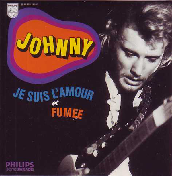 JOHNNY HALLYDAY - Je suis l'amour - ltd ed CARD SLEEVE 2-track - CD single