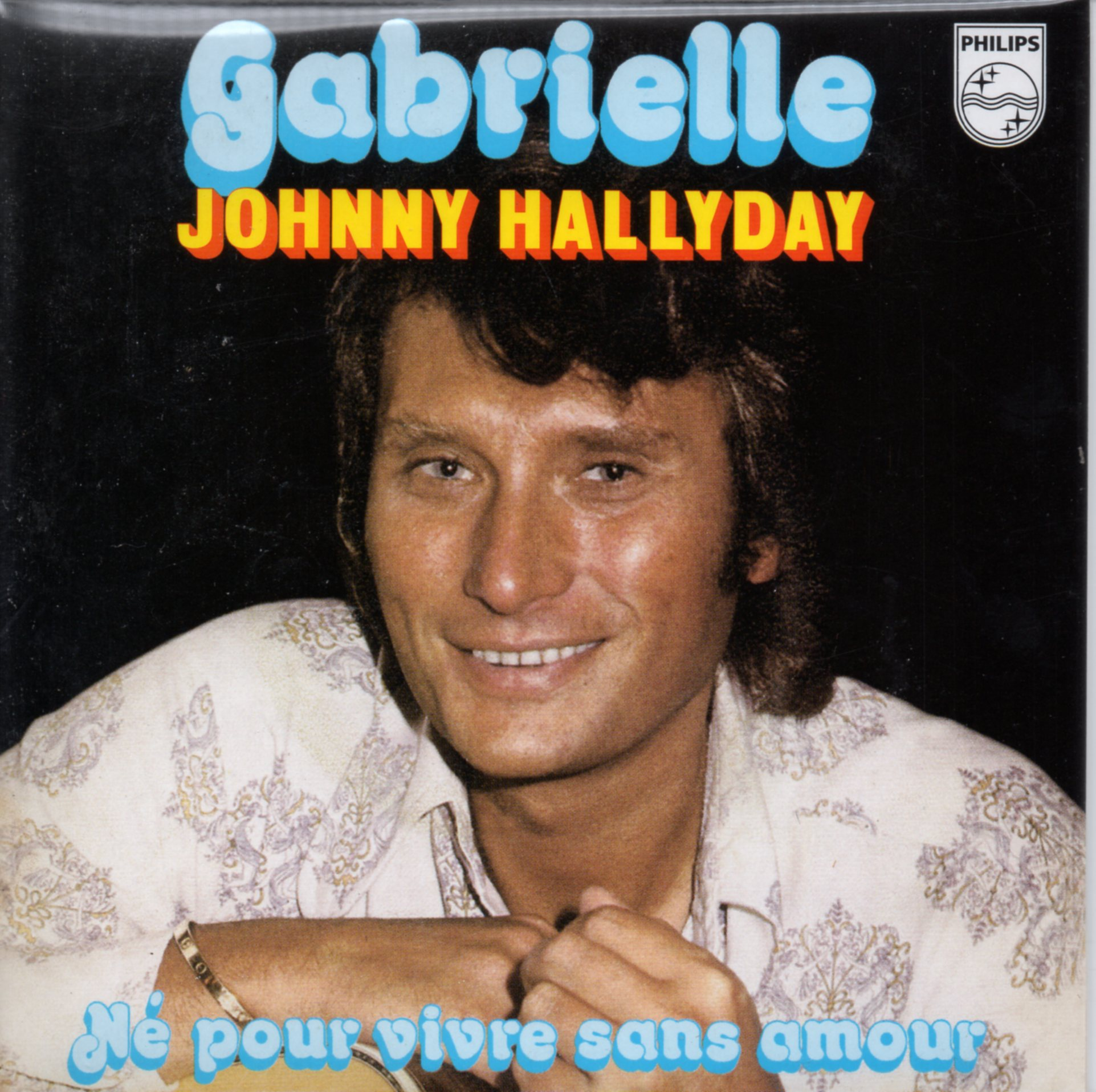 JOHNNY HALLYDAY - Gabrielle 2-track CARD SLEEVE - CD single