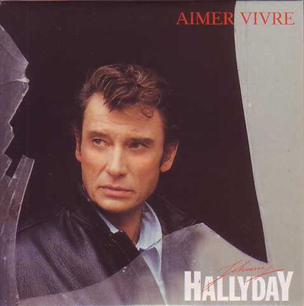 JOHNNY HALLYDAY - Aimer vivre CARD SLEEVE 2-track - CD single