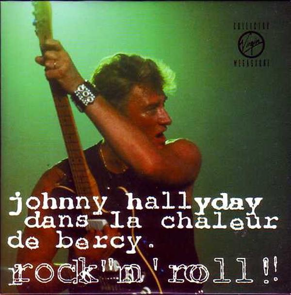 JOHNNY HALLYDAY - Mystery train - Dans la chaleur de Bercy, Rock'n'roll  CARD SLEEVE 4-track - CD single