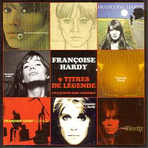 FRANÇOISE HARDY - 9 titres de legende  Promo - CD single