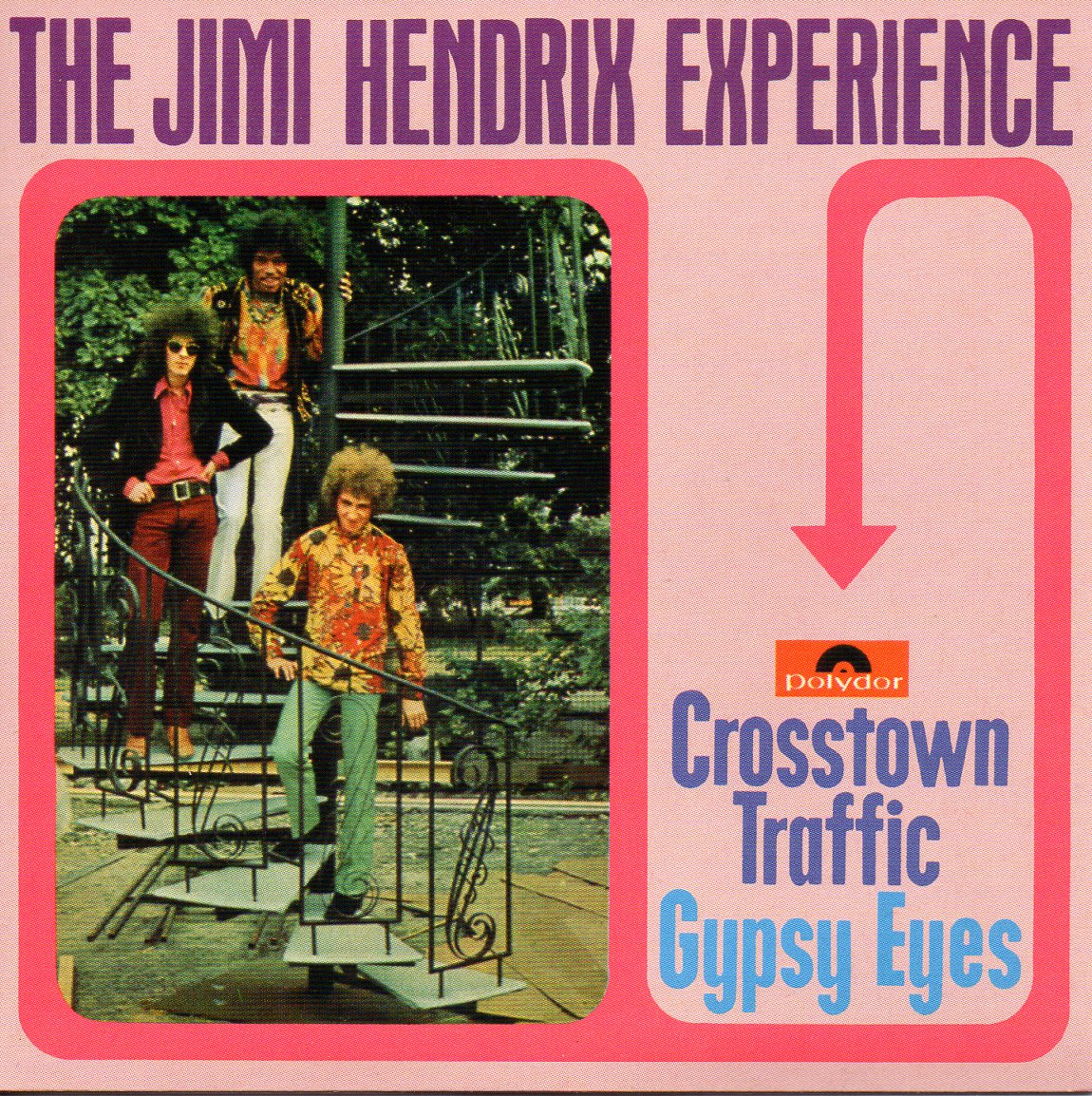 Jimi HENDRIX - Crosstown Traffic 2-track Card Sleeve