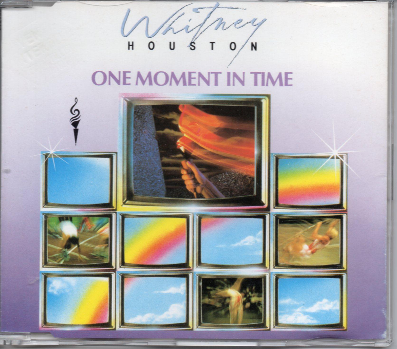 WHITNEY HOUSTON - JERMAINE JACKSON - KASHIF - One moment in time 4-track jewel case - CD Maxi
