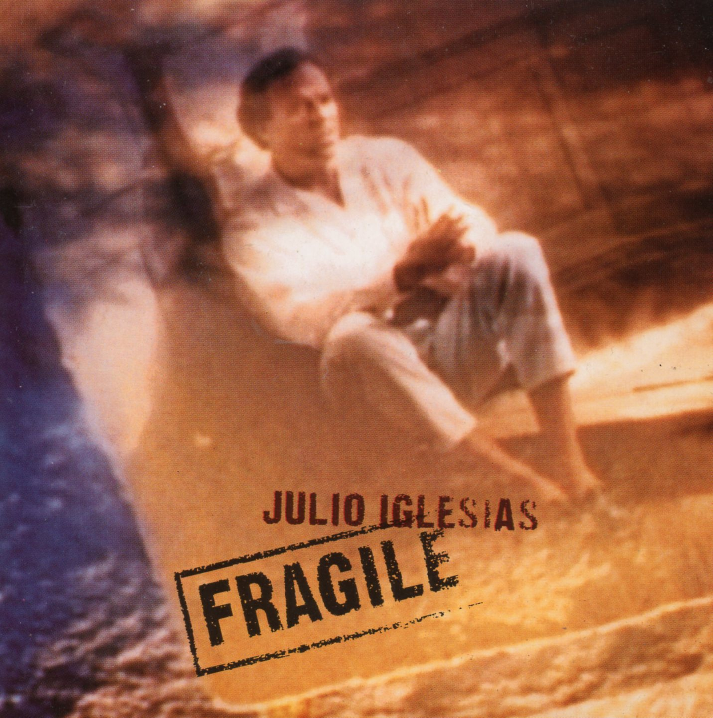 JULIO IGLESIAS - Fragile 2-track CARD SLEEVE - CD single