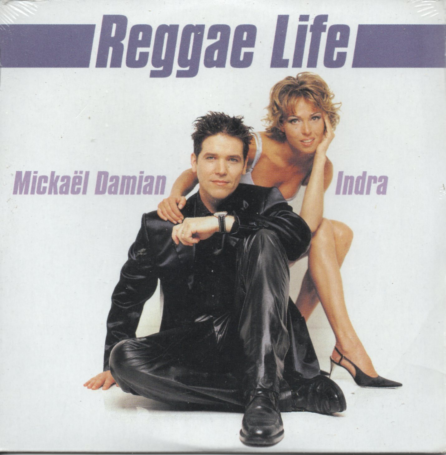 INDRA & MICKAËL DAMIAN - Reggae life 2-track CARD SLEEVE - CD single