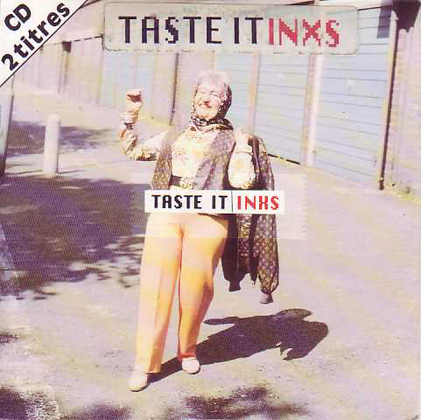 INXS - Taste It 2-track Card Sleeve With Sticker