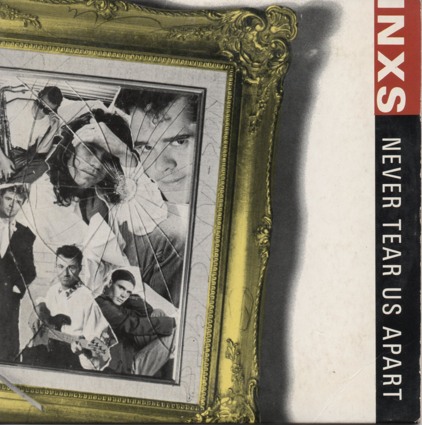 INXS - Never tear us apart 4-Track CARD SLEEVE - CD single